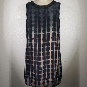 Viviana Uchitel Sleeveless Silk Tunic Size M
